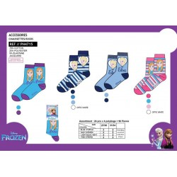 Pack 24 Calcetines Frozen Disney SurtidosT.27/30-31/34