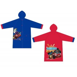 Impermeable 3 Und. Cars Disney T.4-6-8